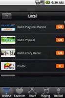 Screenshot of Radio Romania