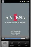 Screenshot of Rádio Antena 1