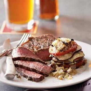 Grilled Rib-Eye Steaks.
