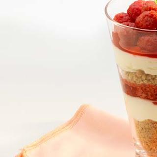 Raspberry Cheesecake In A Glass