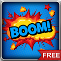 Comic Book Action Bubbles  LWP icon