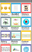 Screenshot of WhatsFun smileys for whats