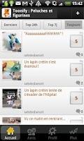 Screenshot of Animez vos peluches : Toonify