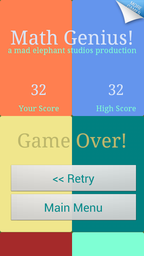 Math Games - Maths Genius! - screenshot