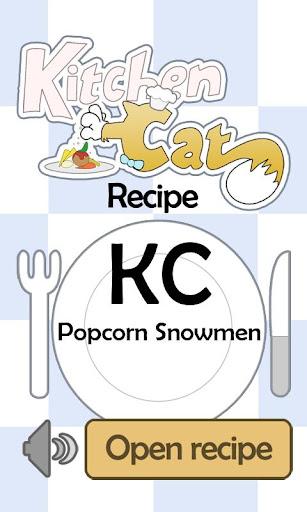 【免費生活App】KC Popcorn Snowmen-APP點子