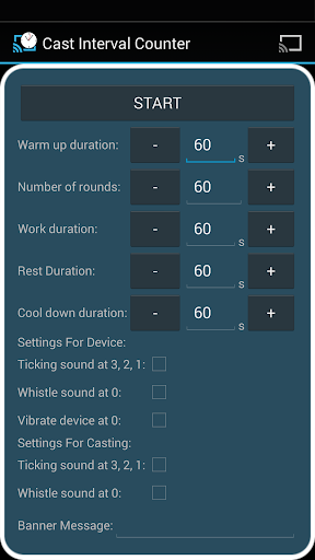Cast Interval Counter
