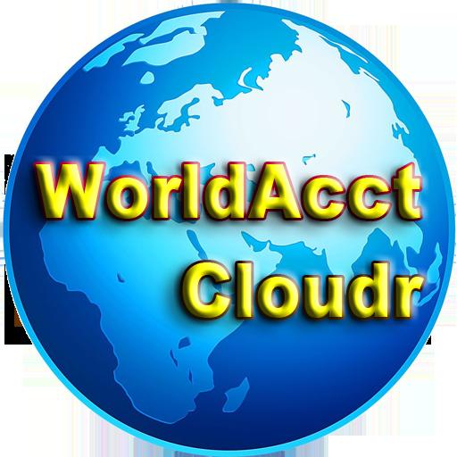 WorldAcct 雲端王 LOGO-APP點子