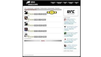 Screenshot of MMA TAKEDOWN FREE