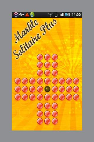 Marble Solitaire Plus - screenshot