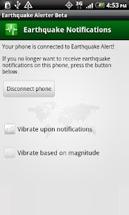 Earthquake Alerter Free- screenshot thumbnail