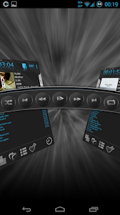 Mosaic Music Player - náhled