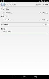 Contraction Timer Screenshot 13