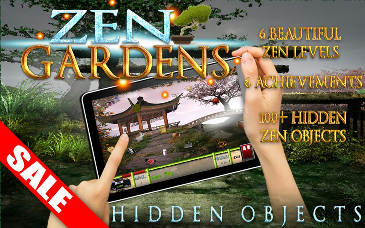 Zen Garden Hidden Objects Game- screenshot