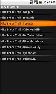 Hike Bruce Trail - screenshot thumbnail