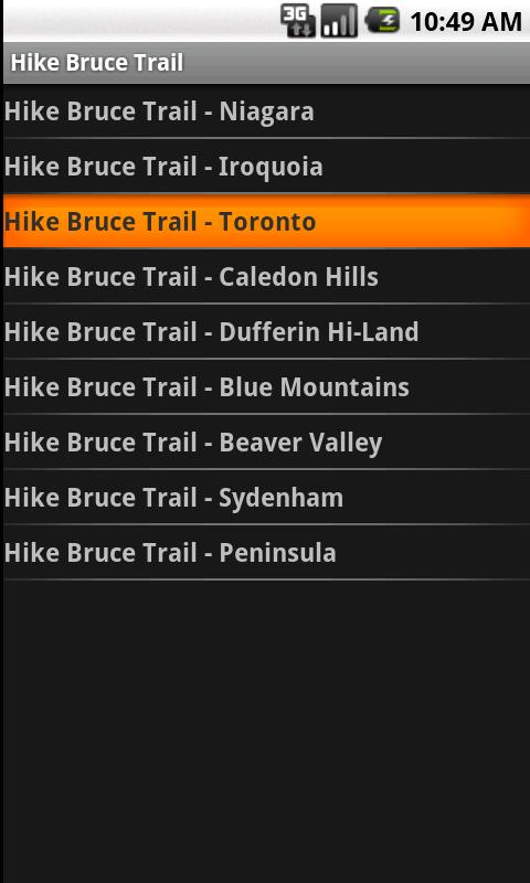Hike Bruce Trail - screenshot
