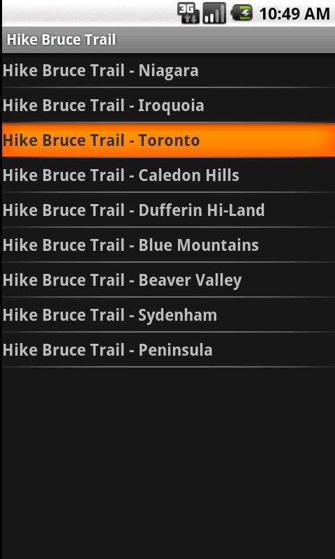 Hike Bruce Trail - screenshot