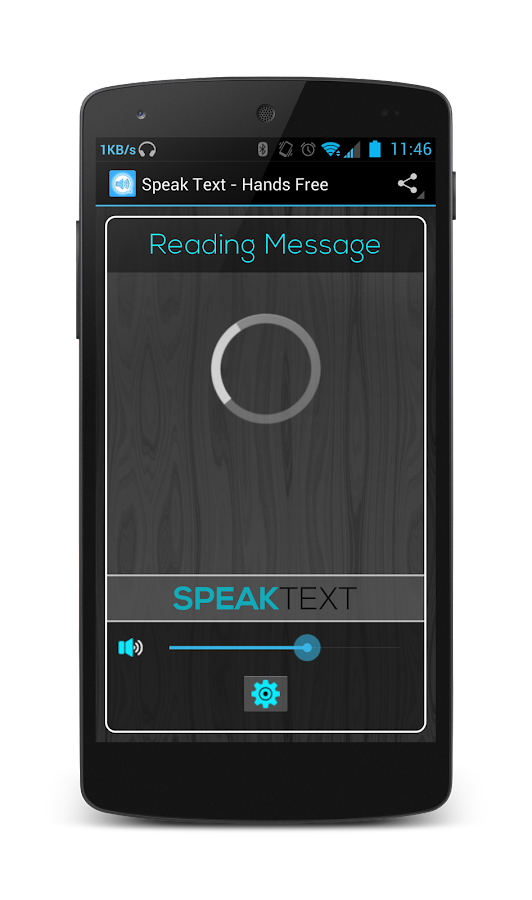 Speak Drive Text Lite - screenshot