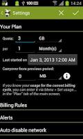 Screenshot of 3G Watchdog Pro - Data Usage