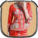 Chinese Woman Photo Suit icon