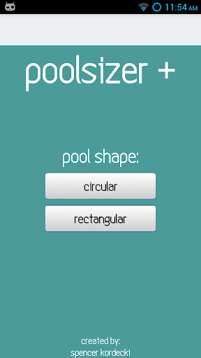 PoolSizer Plus Pool Calculator