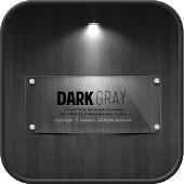 dark gray GO locker theme