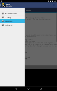 APDE - Android Processing IDE screenshot 11