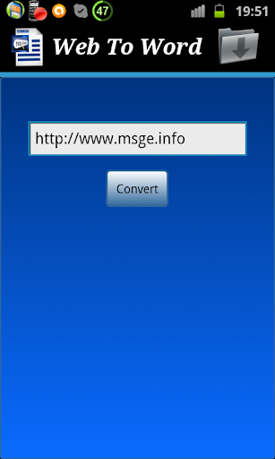Web page To Word Converter