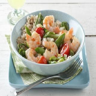 Shrimp and Rice Stir-Fry