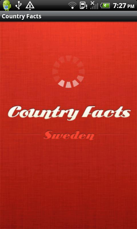 Country Facts Sweden- screenshot