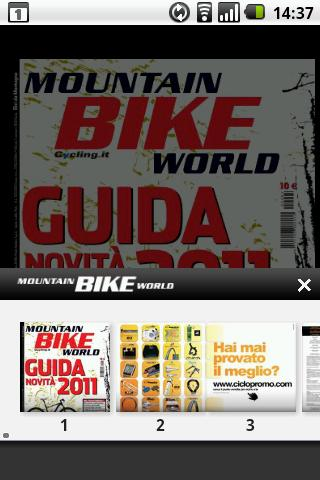 MOUNTAIN BIKE WORLD - screenshot