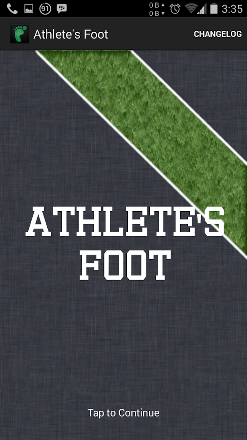 Athlete's Foot- screenshot
