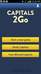 Capitals 2Go - screenshot thumbnail