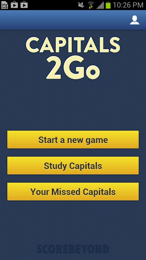Capitals 2Go - screenshot