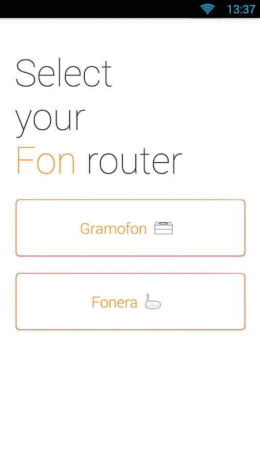 Fon Utility App- screenshot