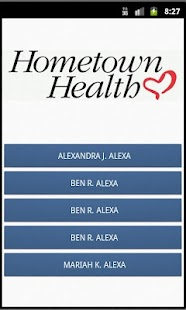 Hometown Health eCard- screenshot thumbnail