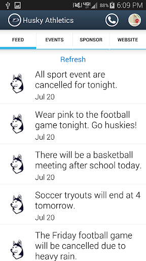 Husky Athletics