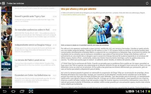 Liga Argentina de Fútbol Screenshot 11
