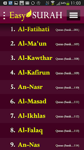 Easy Surah- screenshot thumbnail