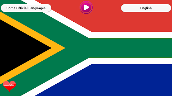 National Anthem South Africa screenshot
