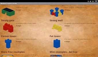 Screenshot of Medieval Castle in bricks