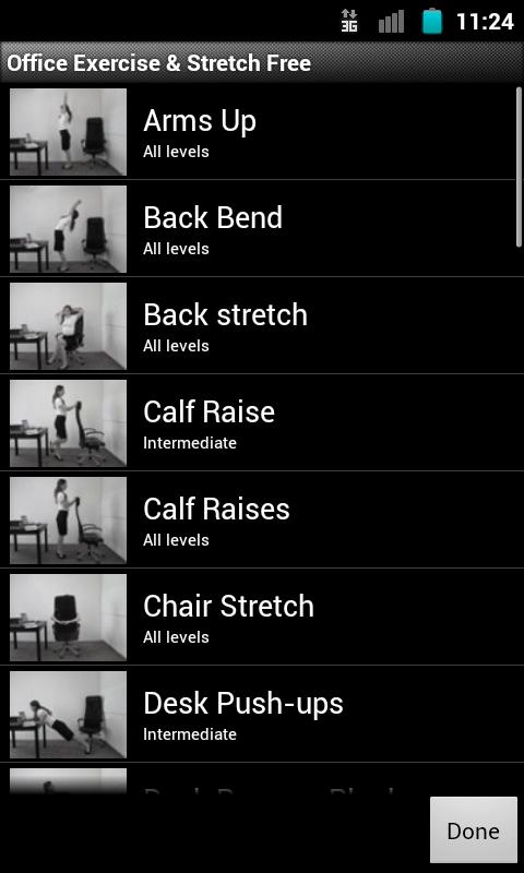 Office Exercise & Stretch FREE- screenshot