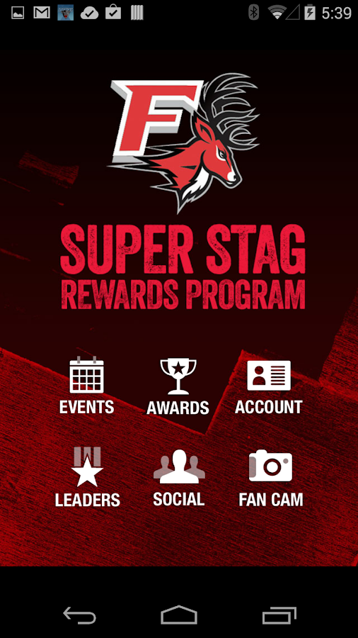 Super Stag Rewards Program - screenshot