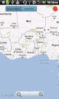 Screenshot of Country Facts Ghana