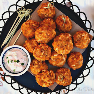 Soy Chorizo Cheddar Balls Recipe