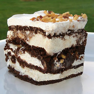 Ice Cream Sandwich Dessert.