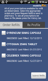 mobileRx Pharmacy- screenshot thumbnail