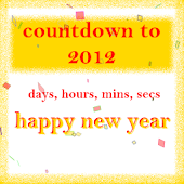 New year 2013 coundown timer