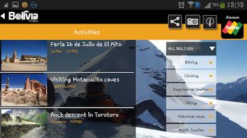 Screenshot of Bolivia Travel