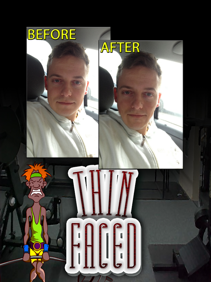 ThinFaced Thin Photo FX Booth- screenshot