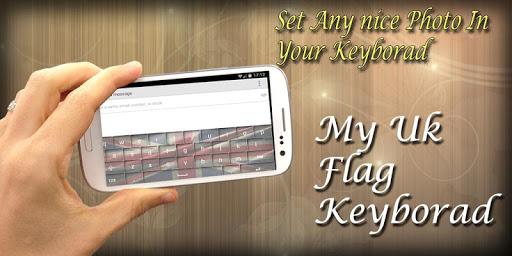 My Photo Keyboard - UK Flag